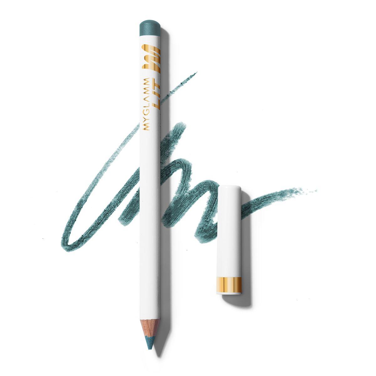 LIT Matte Blue Green Eyeliner Pencil