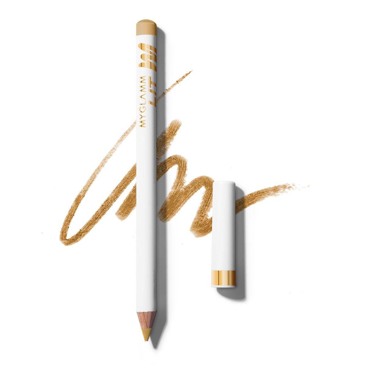 LIT Matte Gold Eyeliner Pencil