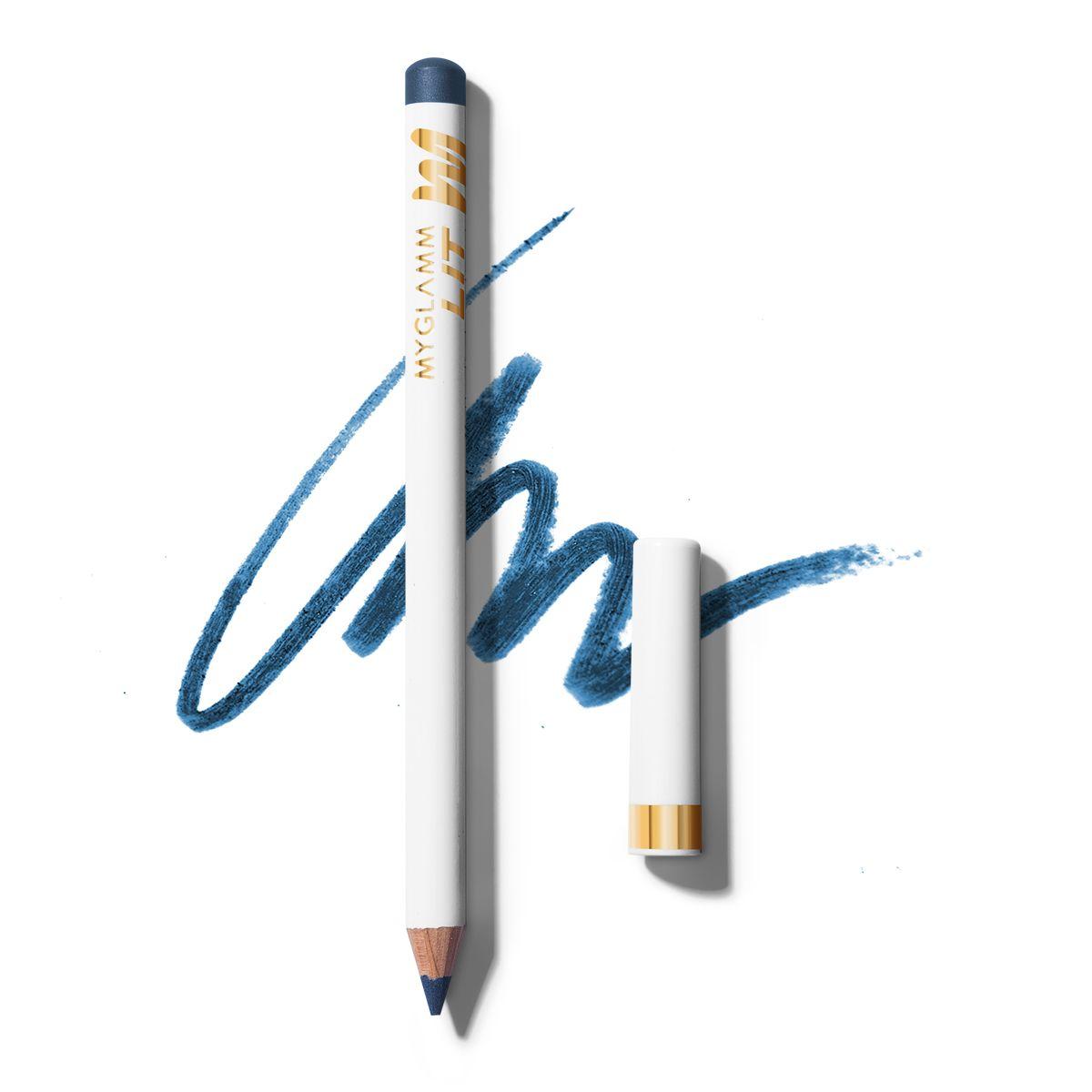 LIT Matte Blue Eyeliner Pencil