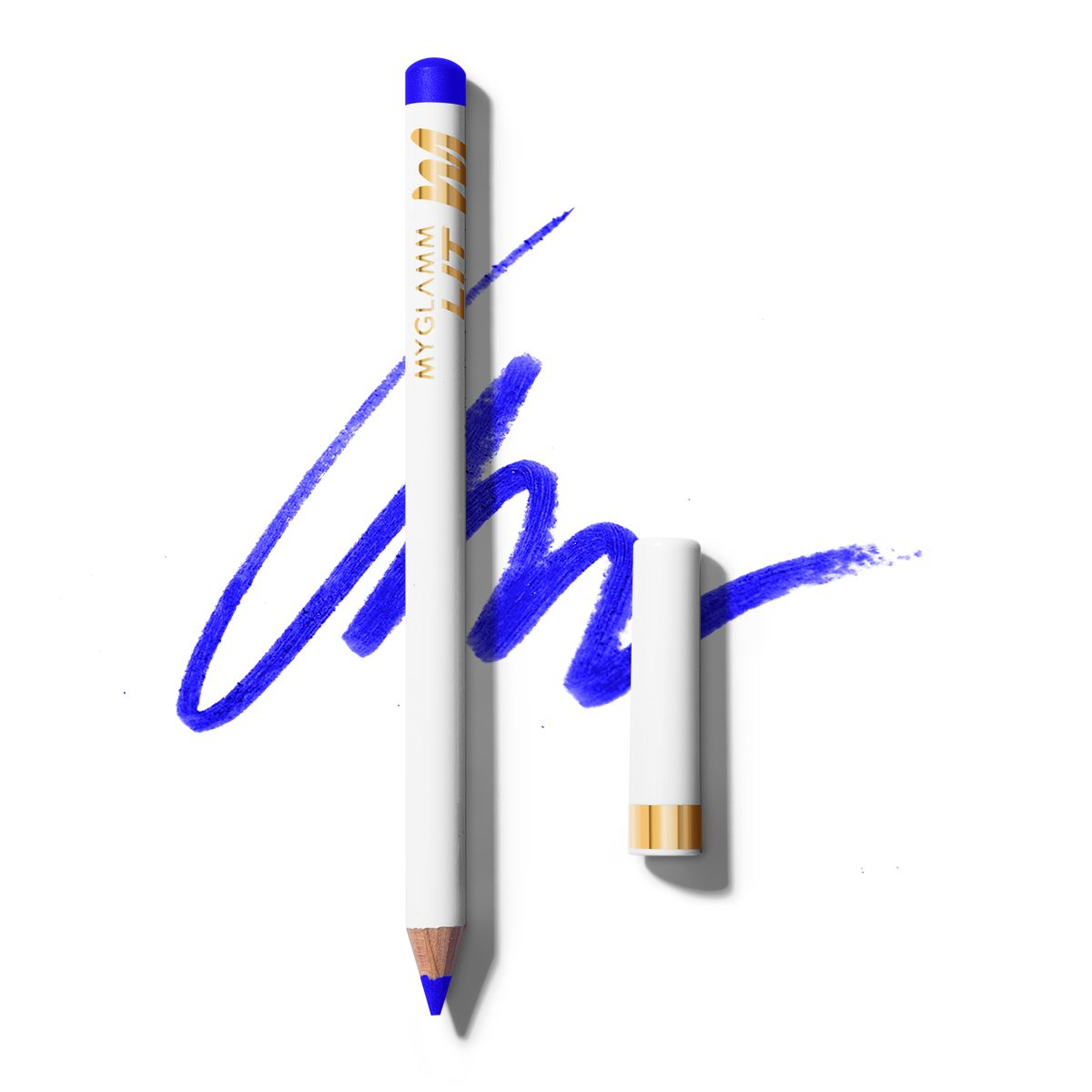 LIT Matte Eyeliner Blue Pencil