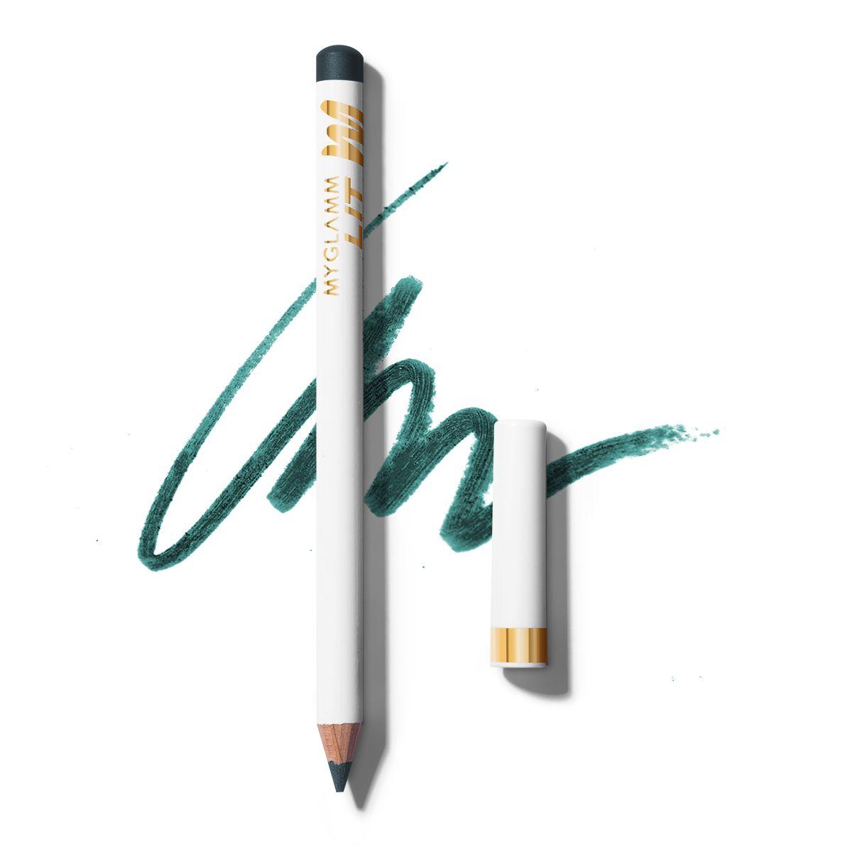LIT Matte Eyeliner Green Pencil