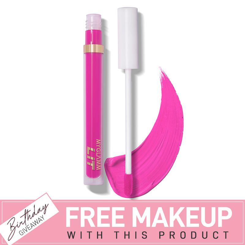 LIT Liquid Matte Lipstick - Burner