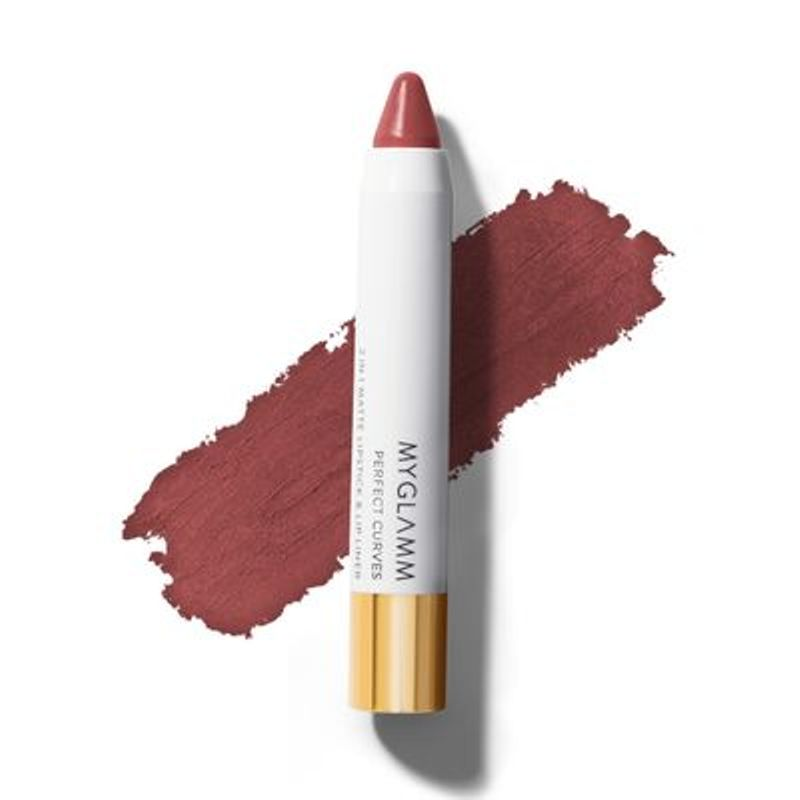 Perfect Curves Bourbon Candy - Chubby Matte Pink Nude Lipstick