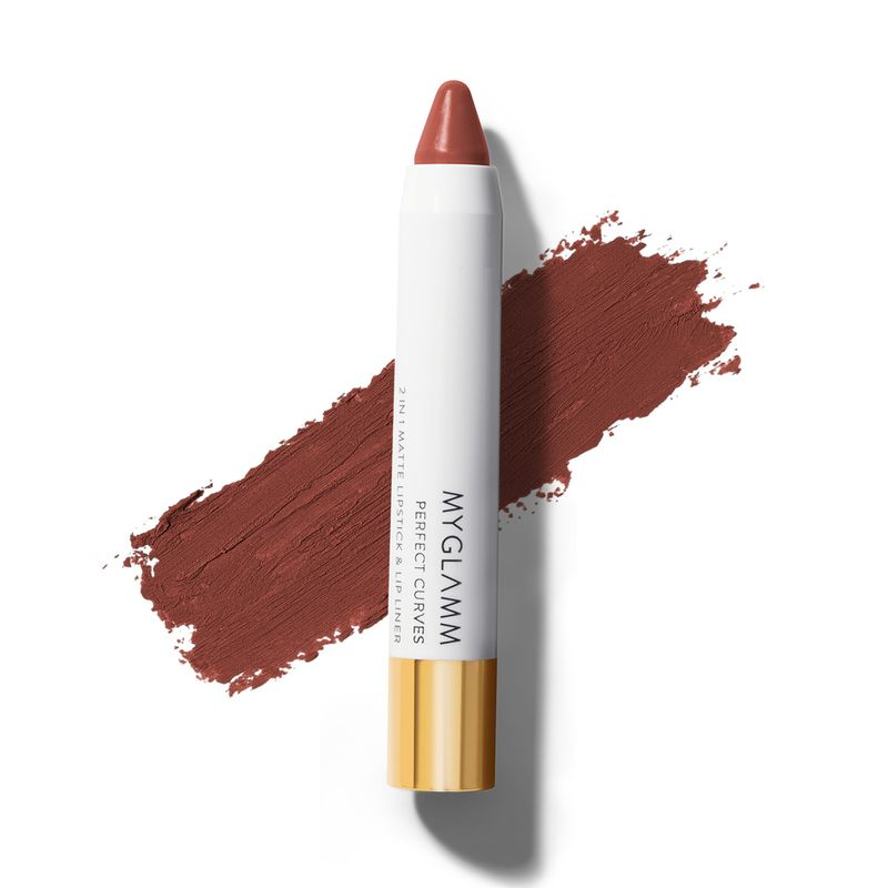 Perfect Curves - Passion - Chubby Matte Brown Nude Lipstick