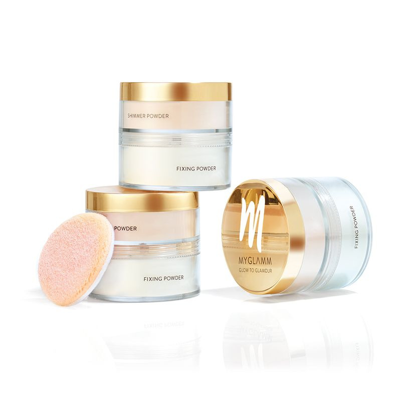 Glow to Glamour - Shimmer And fixing powder