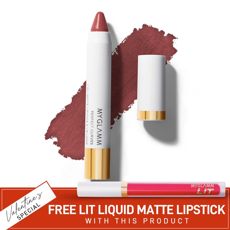 Perfect Curves Lip Crayon - Buy Chubby Matte Soft Brown