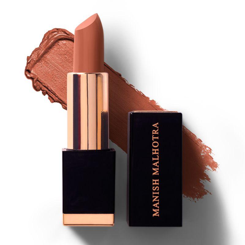 Manish Malhotra - Caramel Kiss High Shine Lipstick