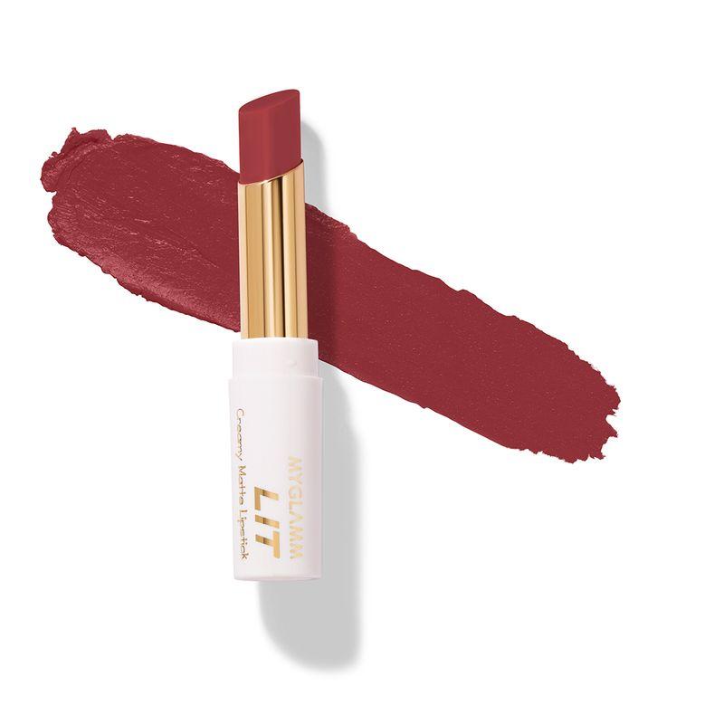 LIT Creamy Matte Lipstick - Manhattan