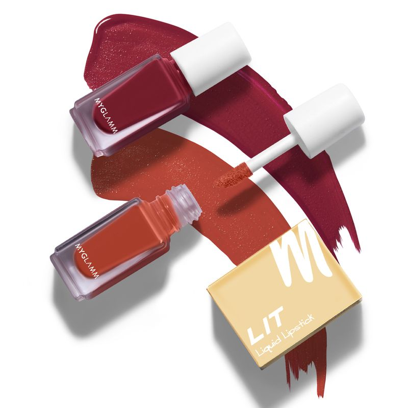 LIT 2 in 1 Liquid Matte Lipstick - Miss Independent
