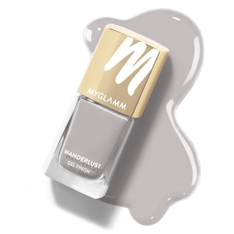 Wanderlust - Moonglow - Grey Gel Nail Polish - MyGlamm