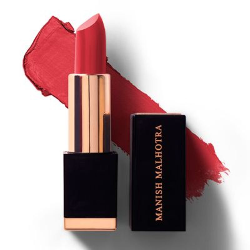 Manish Malhotra - Moroccan Red High Shine Lipstick