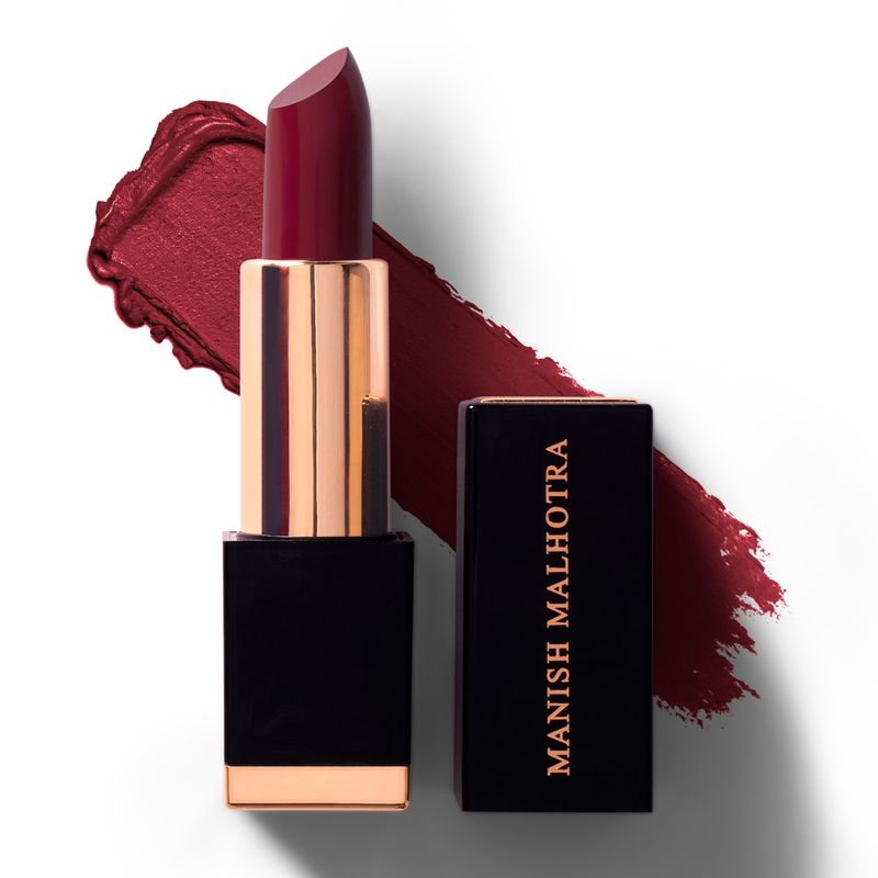 Manish Malhotra - Vintage Wine High Shine Lipstick