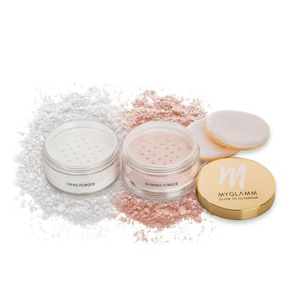 Glow to Glamour - Highlighter and fixing powder for Face