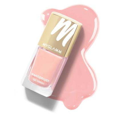 Wanderlust - Air - Peach Gel Nail Polish - MyGlamm