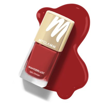 Wanderlust - Burning-Love - Red Gel Nail Polish - MyGlamm