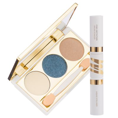 Eye Makeup Kit - Primer, Eyeshadow & Highlighter With Eyeliner