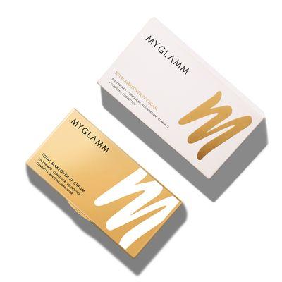 Total Makeover FF Cream Foundation Palette - Hazelnut