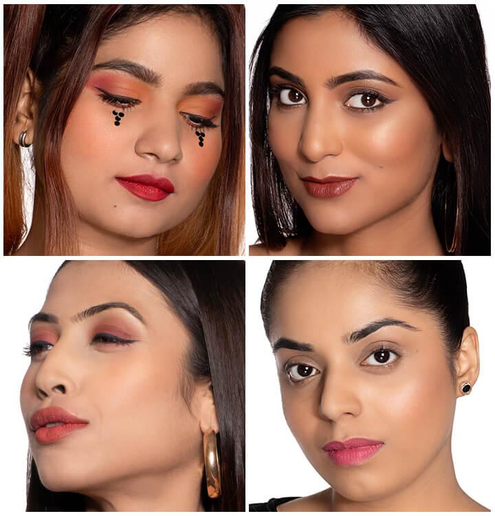 3 Xmas Makeup Looks