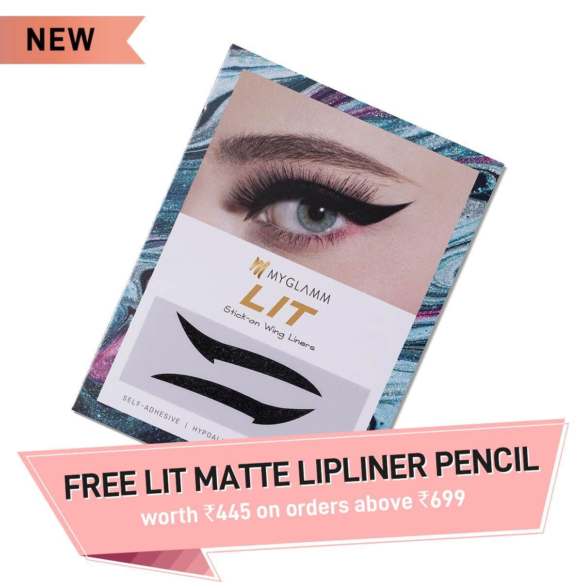 LIT Stick-On Wing Liner - G.O.A.T