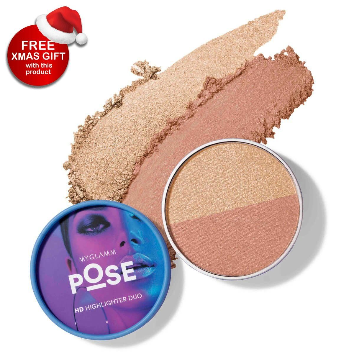 POSE HD Highlighter Duo - Champagne | Rose Gold