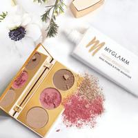 Makeup Kit - Base Primer Makeup & Highlighter, Blush & Bronzer