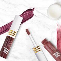 Makeup Kit - Nude Pink & Burgundy Creamy Matte Lipstick