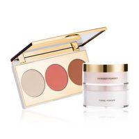 Highlighter, Blush & Bronzer With Shimmer Powder
