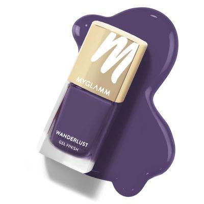 Wanderlust - Arabian-Mystery - Purple Gel Nail Polish - MyGlamm