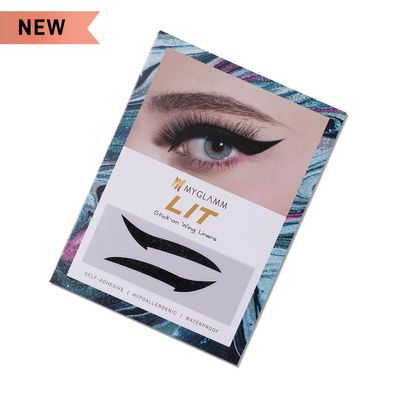 Buy LIT Stick-on Wing Eyeliner in Black Shade