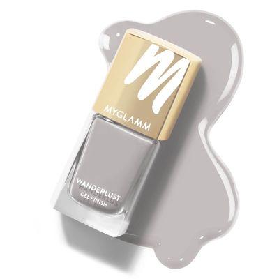 Wanderlust - Moonglow - Grey Gel Nail Polish - MyGlamm