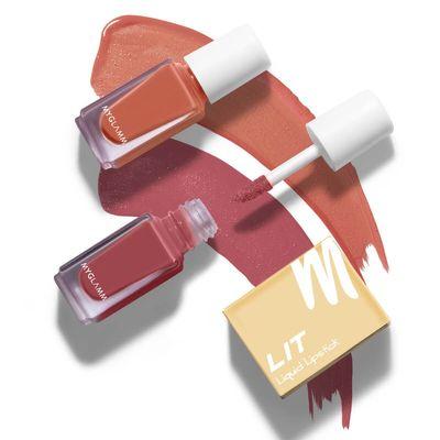 LIT 2 in 1 Liquid Matte Lipstick - Stargazer