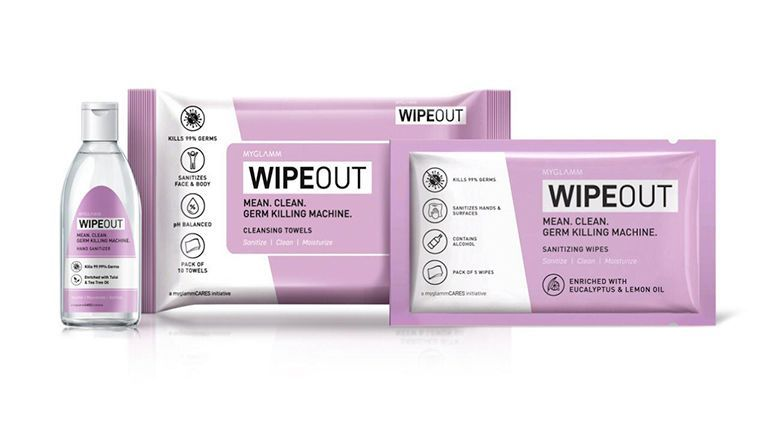 Everything You Need To Know About MyGlamm's New WIPEOUT Sanitizing Collection