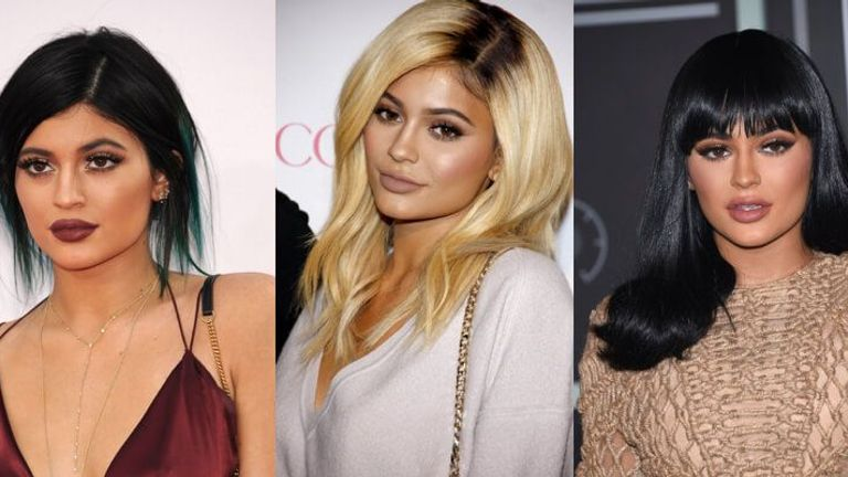 Kylie Jenner's best makeup moments on her birthday