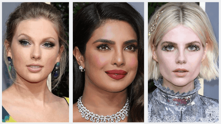 8 Best Red Carpet Makeup Looks At The 2020 Golden Globes