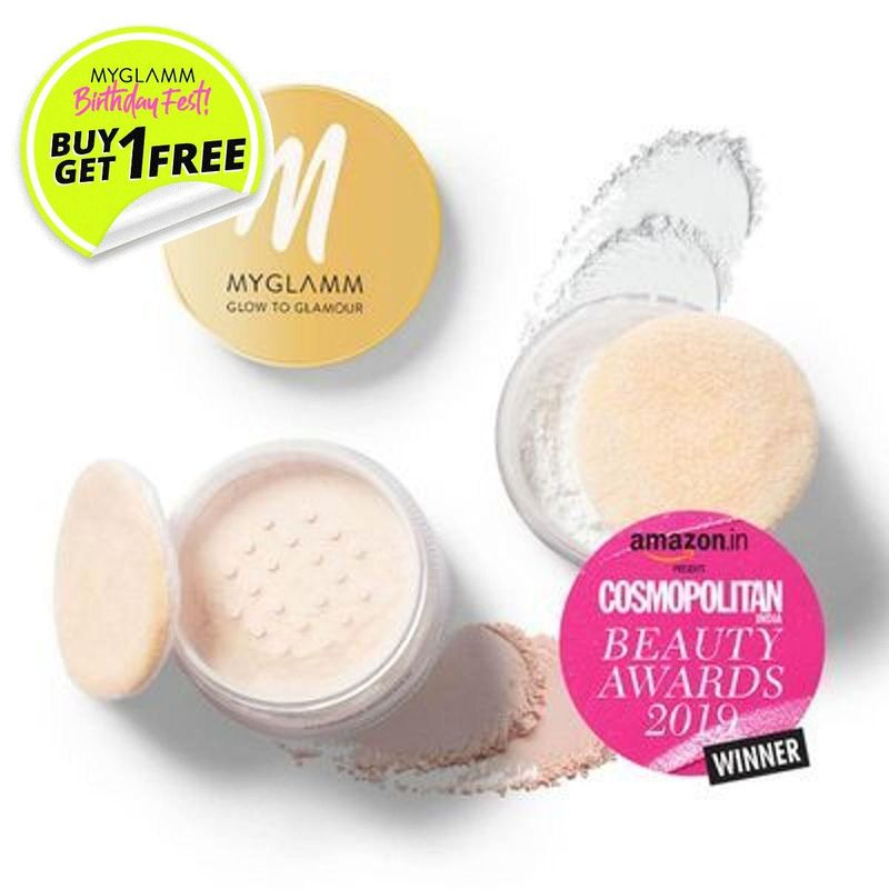 Glow to Glamour Shimmer And Fixing Powder