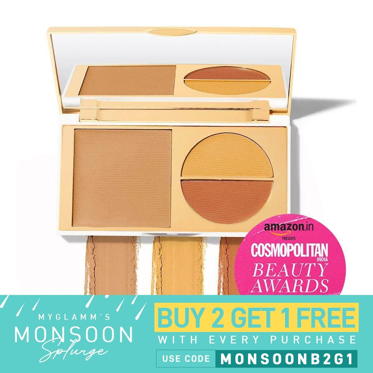 Total Makeover FF Cream Foundation Palette - Honey