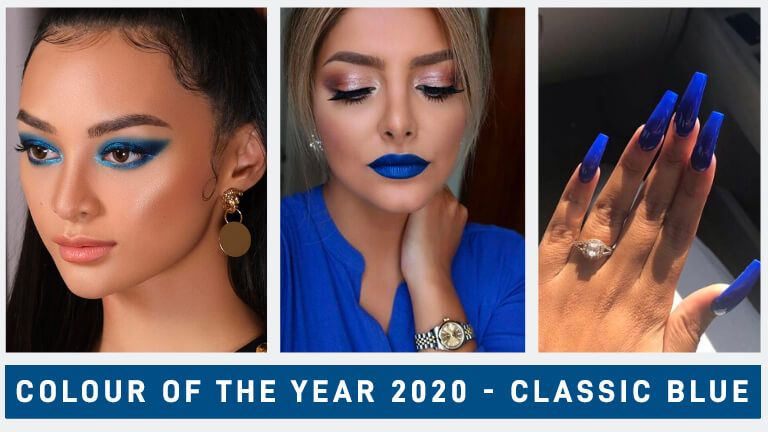 """How To Incorporate Pantone's """"Classic Blue"""" Into Your Makeup"""