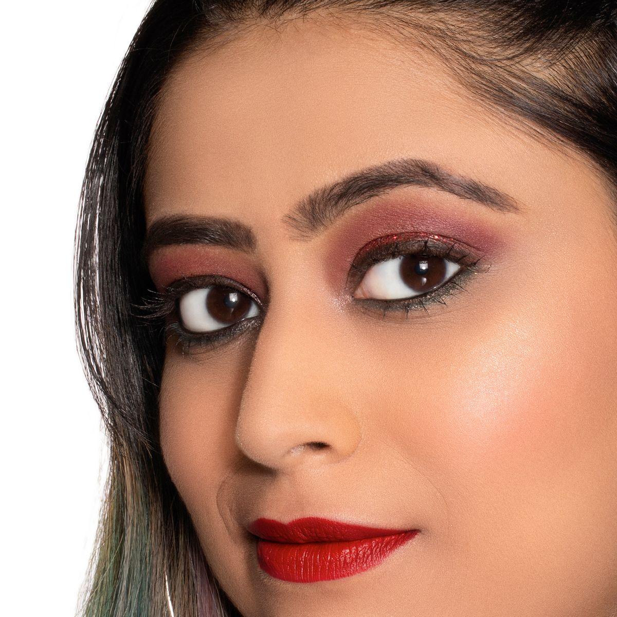 Makeup Look for Christmas