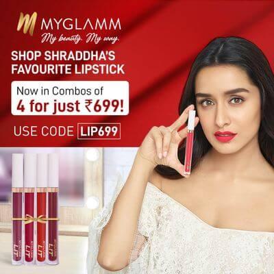 Shraddha's favourite lipstick