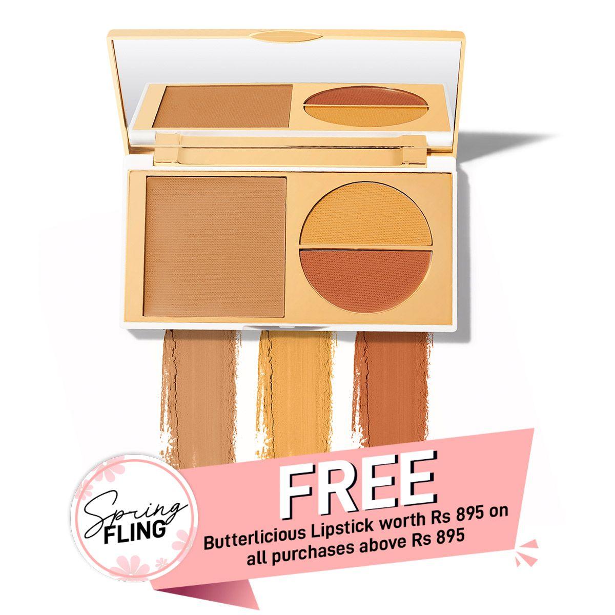 Total Makeover FF Cream Foundation Palette - Honey
