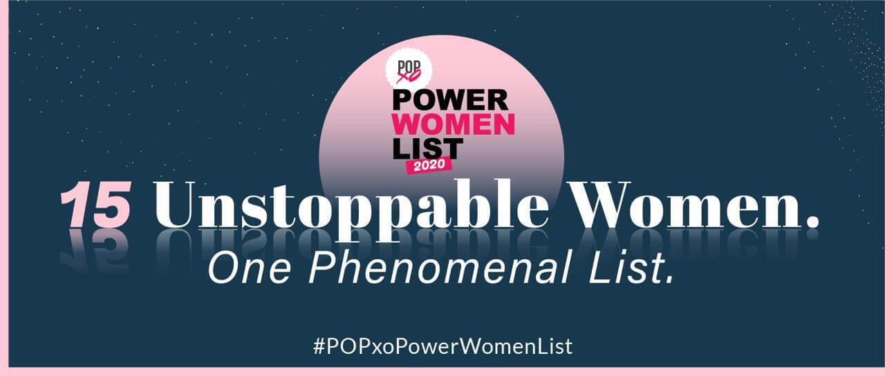Power Woman List Banner