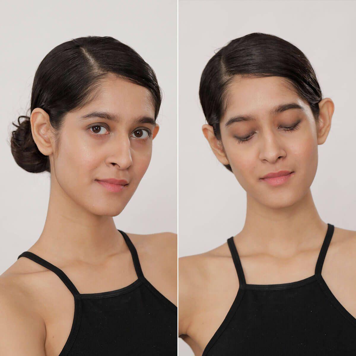 Simple Gym Makeup Look