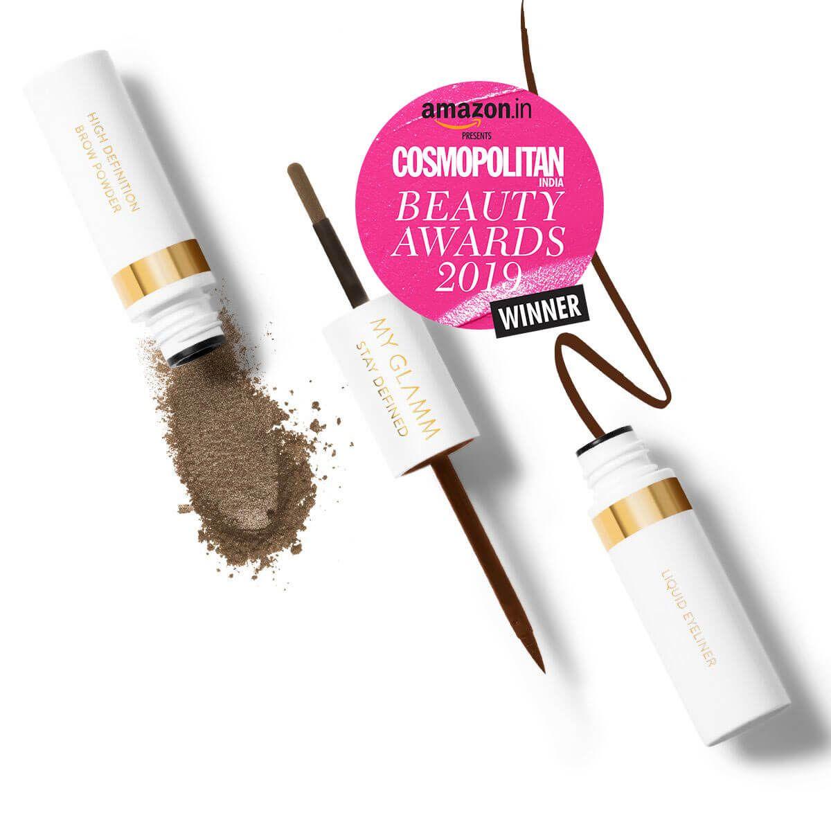 Stay Defined Liquid Eyeliner Brow Powder - Nutmeg & Espresso