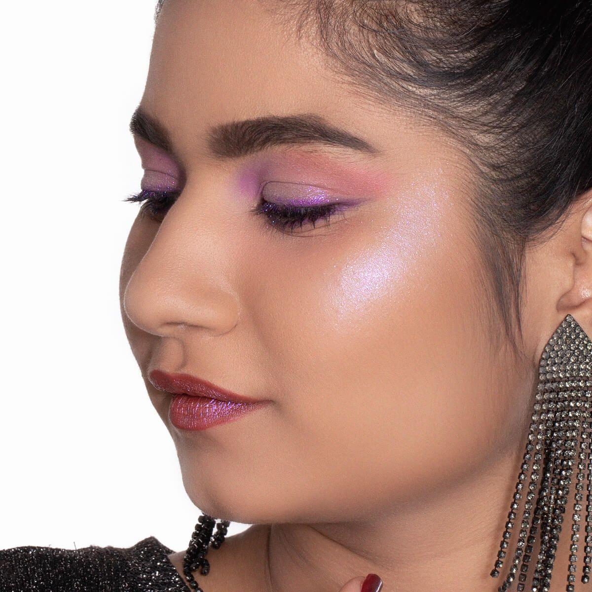 Makeup Look with MyGlamm'sMagic Potion