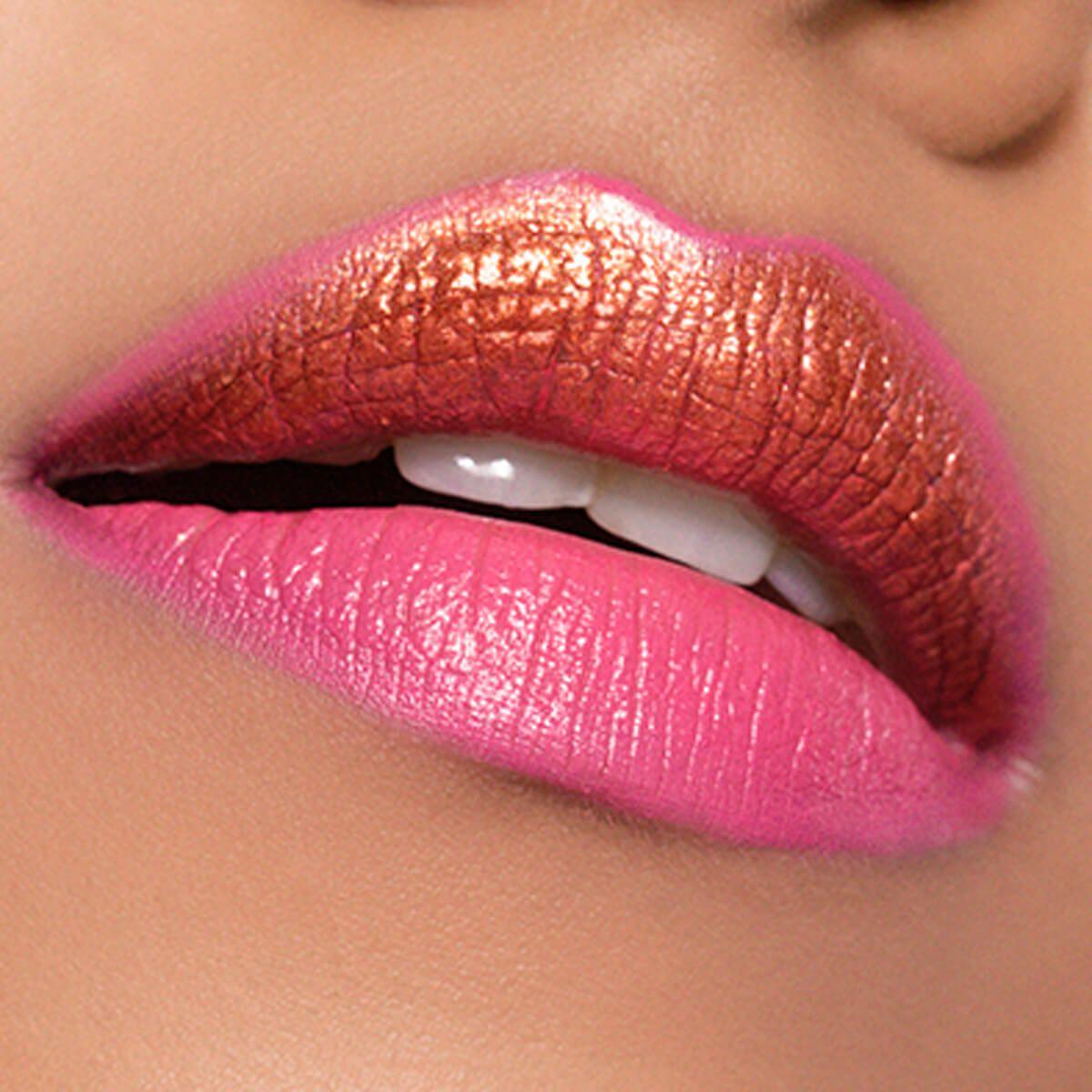Glitter Pink Lips Trend