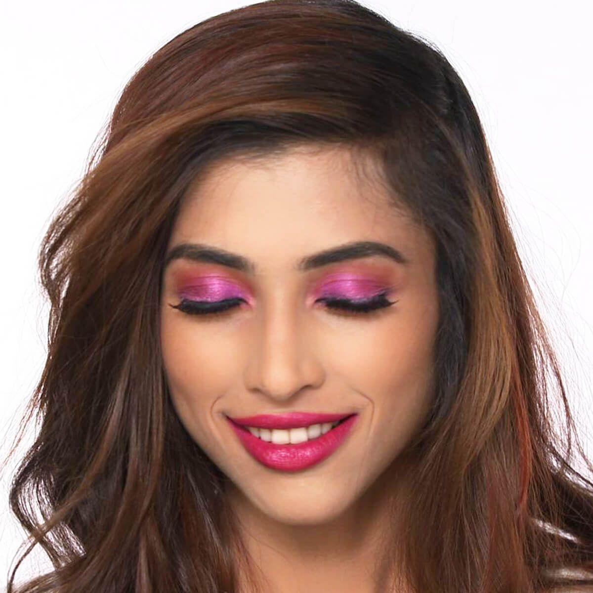 Priyanka Chopra's Pink Eye Makeup Look