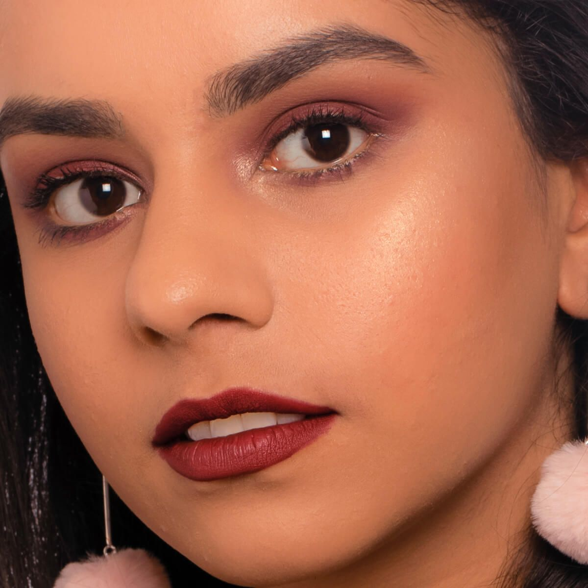 Monochrome Makeup look